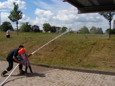 Kindergarten Besuch Feuerwehr Göllheim